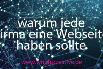 Warum jede Firma eine Webseite haben sollte